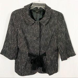Talbots | Tweed Blazer 3/4 Sleeve Blazer